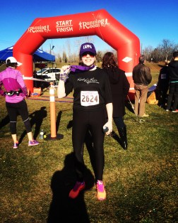 Second 10K race - Kathy's Run for Pancreatic Cancer