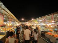 In Pattaya we went to a weekend Night Market! Awesome!