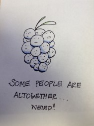 """"""" Some people are altogether wierd!'' ...hmm made sense at the time"""