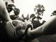 so......I laid on the ground and took this. Kinda odd...yet kinda cool...KINDA!