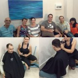 Had six missionaries over one afternoon for some haircuts. Abby made them sit in the corner! haha (short trimmer cord) Had such a lovely time and great conversation of course!!