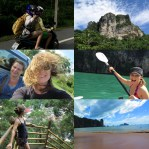 Collage O Rama of some cool parts of ourThailand trip