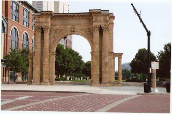 Union Station Arch Columbus Ohio