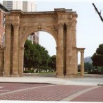 Union Station Arch Columbus Ohio