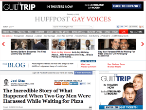 Joel Diaz: The Incredible Story of What Happened When Two Gay Men Were Harassed While Waiting for Pizza