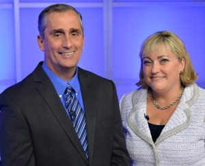 The Intel board of directors has elected Brian Krzanich, 52, as Intel's next chief executive officer and elected Renée James, 48, as Intel's next president.
