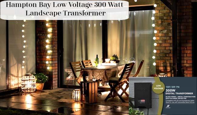 hampton bay low voltage 300 watt