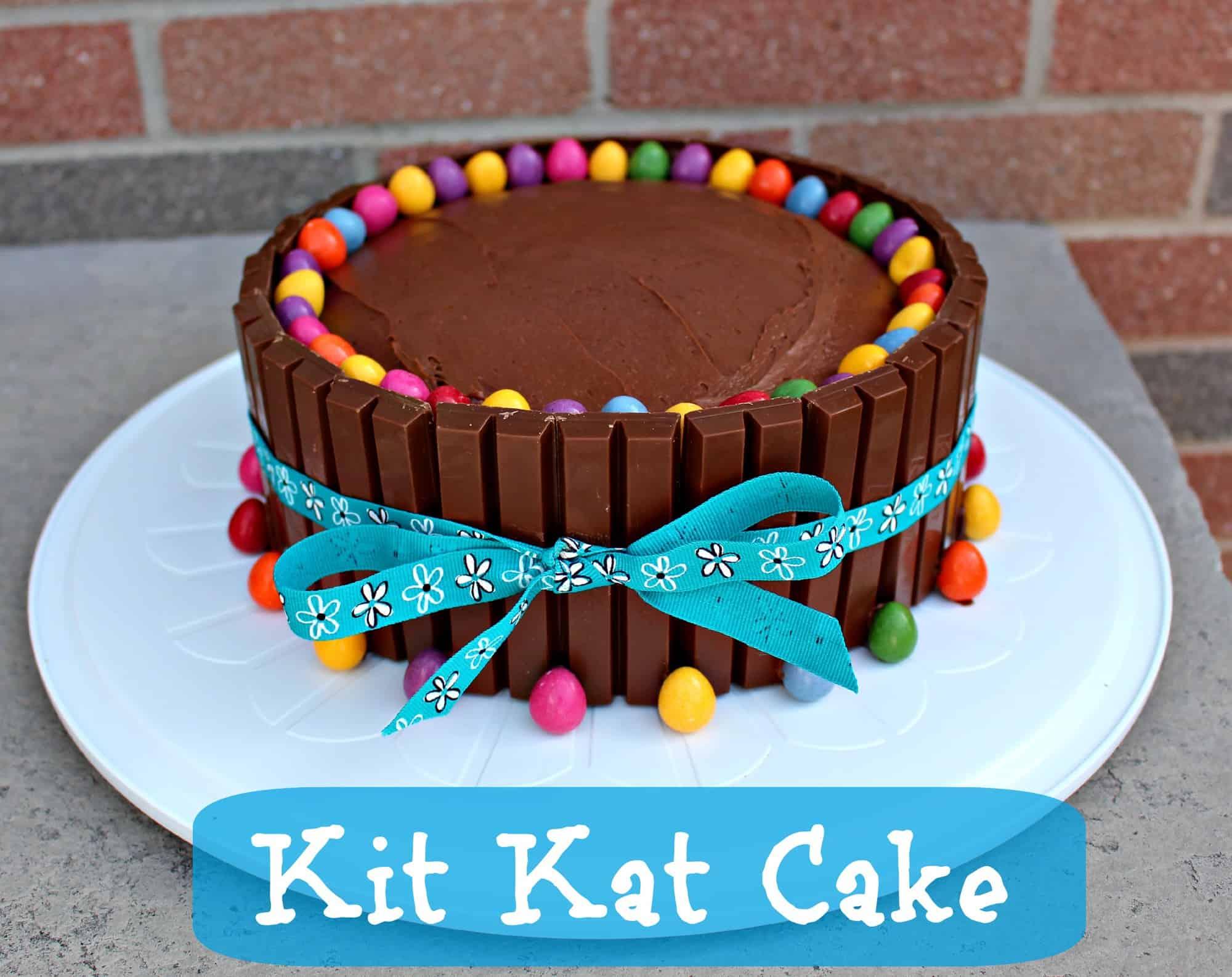 Kitkat Cake Recipe Easy Birthday Cake Idea
