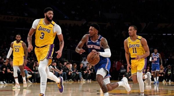 Les Lakers sans pitié avec les Knicks