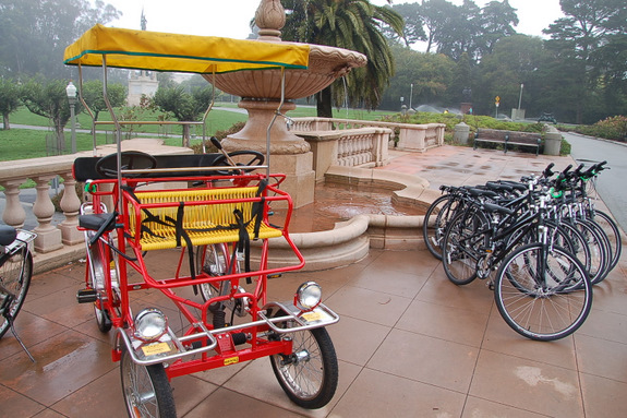 Rec And Parks Department Launches Park To Park Bike Rental