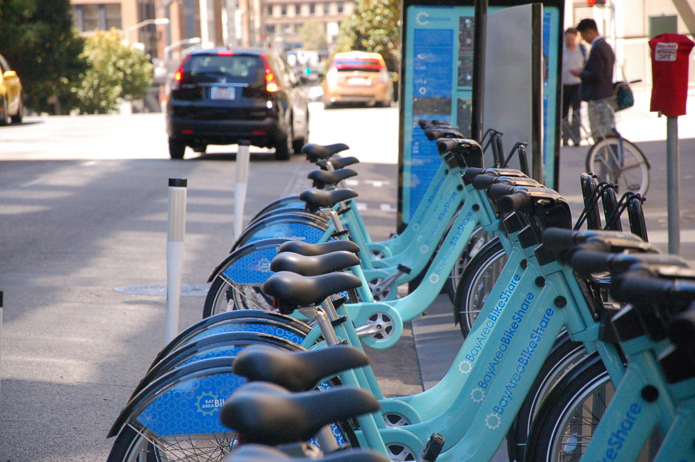 Bay Area Bike Share Off To Underwhelming Start Early Usage Data - Car show sf bay area