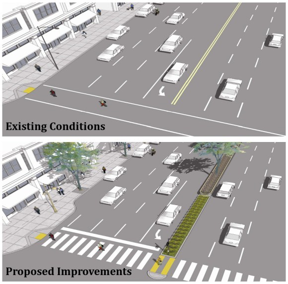 El Camino Complete Streets Existing & Proposed