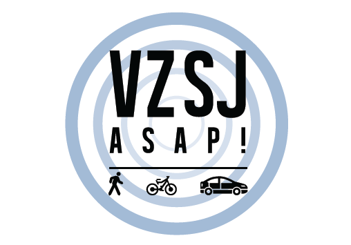 Vision Zero San Jose As Soon As Possible Logo