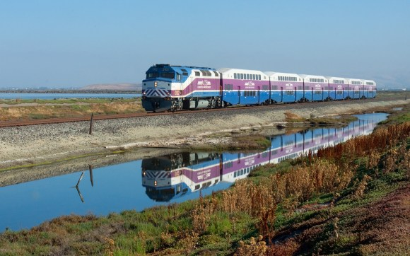The Altamont Corridor Express has run for ten years with only one previous derailment. Photo: Wikimedia Commons.