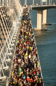 Bay Bridge opening. Protects such as this improve quality of life in the Bay Area. Photo: Noah Berger.