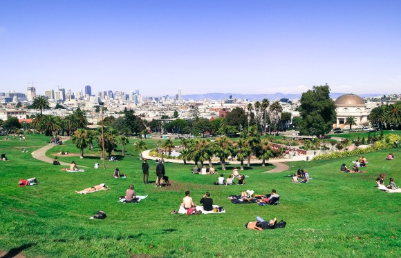 A new survey say San Francisco is still a great place to live. Image: Wikimedia Commmons