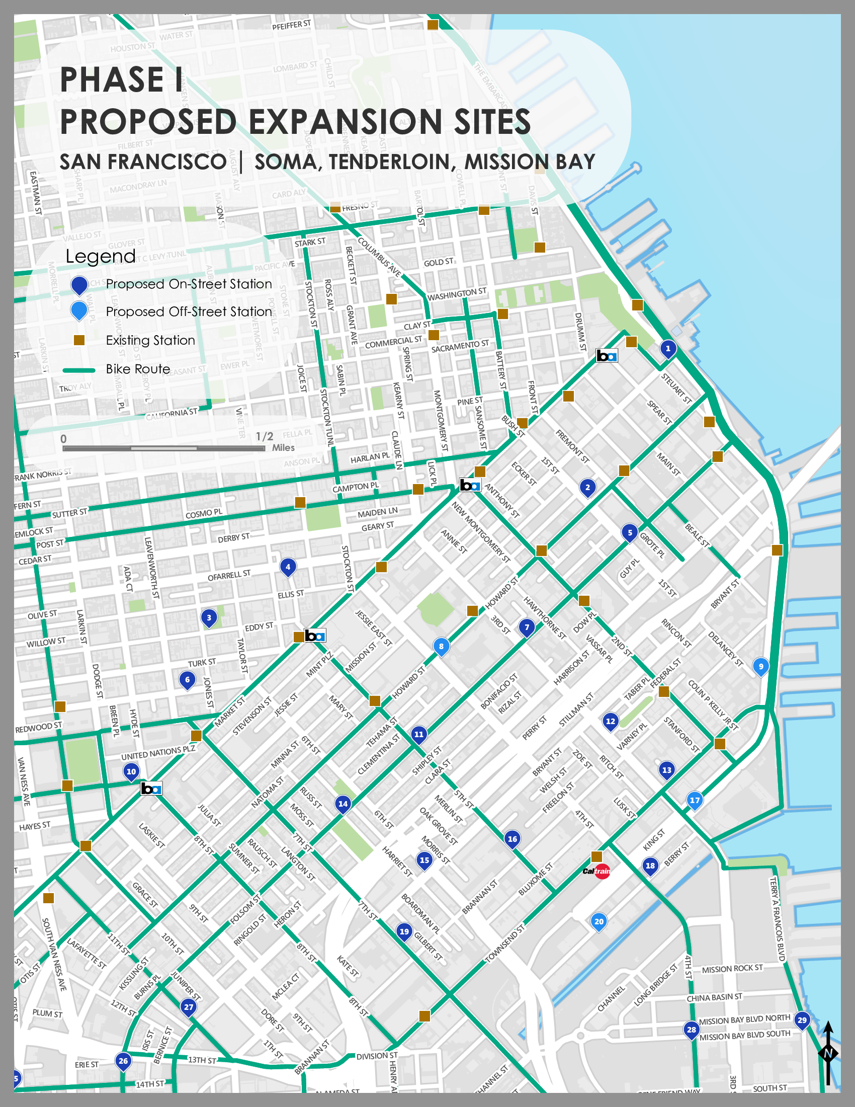 Milestone Reached In Bay Area Bike Share Expansion Streetsblog San - San francisco bike map