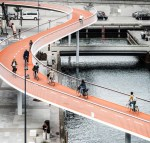 SFSU students point out that relative to many infrastructure projects, a simple bike and ped bridge would be inexpensive and make a bigger difference for transit commuters who need a safe and easy connection to campus. Image: Copenhagenize Design Company