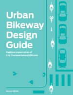 If protected bike lanes are to be the new normal, it has to be reflected in SFMTA graphics, as seen here on the cover of the NACTO manual. Image: NACTO.