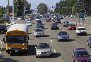 The VTA sales tax includes $440 million to depress just one-mile of Lawrence Expressway under three intersections in north Sunnyvale. Photo: Andrew Boone