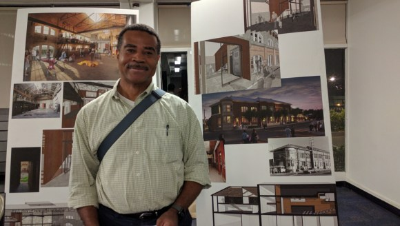 Chuck Burwell said the agencies need to think big--really BIG--if they want to fix the area. Photo: Streetsblog