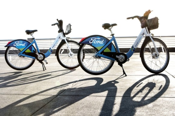 Bay Area Bike Share will be rebranded Ford Go Bike in 2017 when the system expands to over 7,000 bikes. Photo: Ford Motor Company