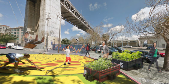 A rendering of what the SODA committee had hoped to do. Image: SF Planning