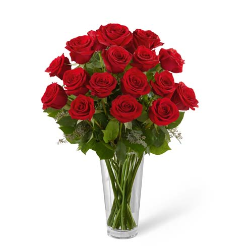 Long Stem Red Rose Bouquet At Send Flowers