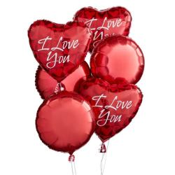 Last minute gift delivery on Valentine's Day mylar balloon bouquet delivery