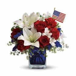 4th of july flower delivery from send flowers, same day delivery