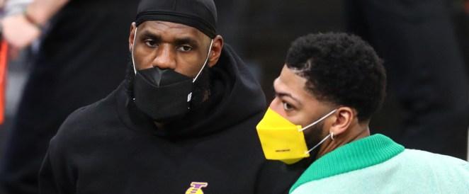 Basket – NBA – Lakers : Davis et James ne reviendront pas avant fin avril