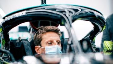 F1 2021 – Grosjean ne pilotera pas la Mercedes au Castellet