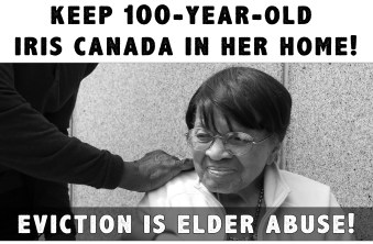 Keep 100-Year-Old Iris Canada in her home!
