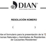 Proyecto de Resolución