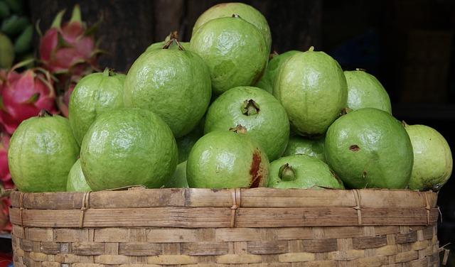 Guava. Beneficiile uimitoare ale fructelor exotice