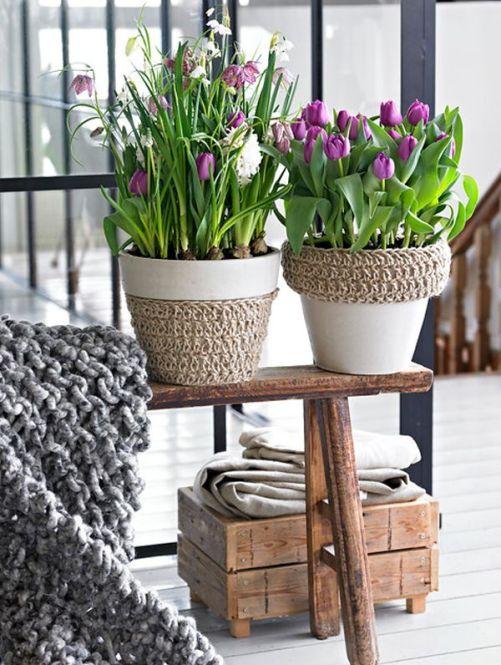 decorarea casei cu flori de primavara 5