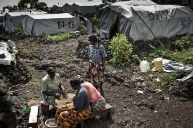 Goma Congo refugee camp 1212 by UNHCR