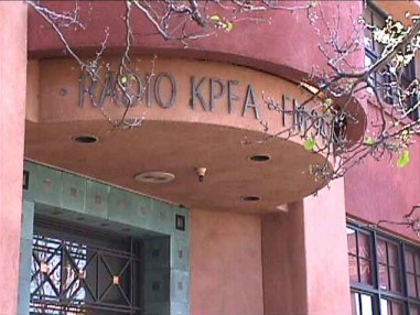 KPFA entrance