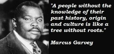 Marcus Garvey pic with quote