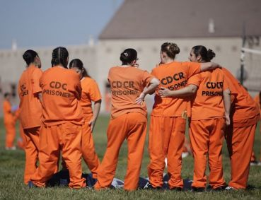 CCWF (Central Calif. Women's Facility) women in yard 040512 by Lea Suzuki, Chron