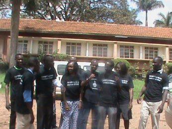 Ugandan activists meet Makerere University, Kampala 121612