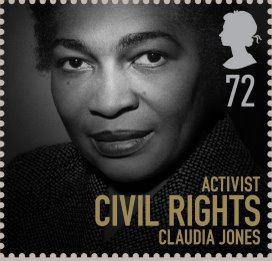 Claudia Jones stamp UK