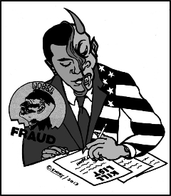 Obama Kill List by Emory Douglas