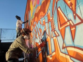 Refa-1 painting mural, web
