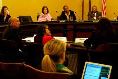 Assembly Public Safety Committee hearing on SHUs panel, legislators 022513 by Sheila Pinkel, web
