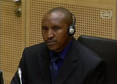 Bosco Ntaganda 1st appearance ICC 032613 video by AFP