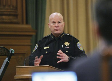 SFPD Chief Greg Suhr pushes tasers by Mike Koozmin, SF Examiner