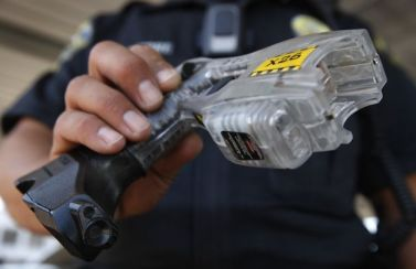 Taser with video camera used by Brentwood PD by Paul Chinn, SF Chron