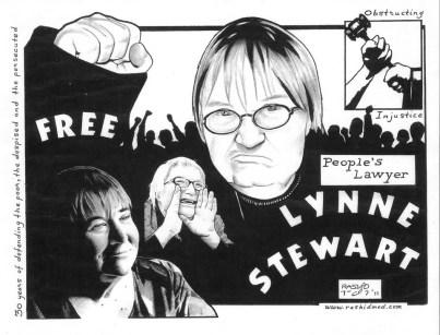 Lynne Stewart graphic 1211 by Rashid Johnson, web