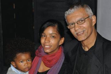 Chokwe Lumumba, daughter Rukia Lumumba, grandson Qadir